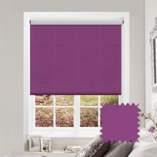 Purple Roller Blind - Astral Orchid